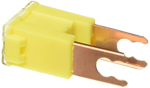 Bussmann FLM-60 Automotive Male Terminal Fusible Link - 60 A (Yellow), 1 Pack