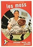1959 Topps Regular (Baseball) Card# 453 Less Moss of the Chicago White Sox VG Condition