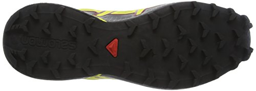 Salomon Speedcross 4 Cs, Zapatillas de Running para Asfalto para Hombre Amarillo (Alpha Yellow/CORONA YELLOW/Black)