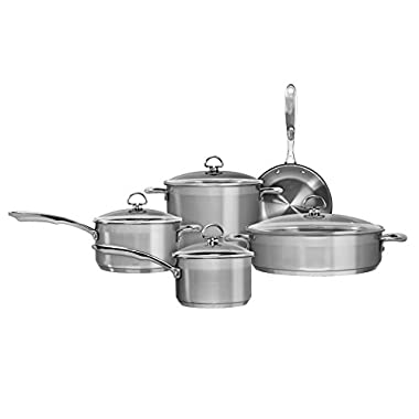Chantal SLIN-9 9-Piece 21-Steel Induction Cookware Set