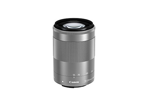 (Canon EF-M 55-200mm f/4.5-6.3 Image Stabilization STM Zoom Lens (Silver))