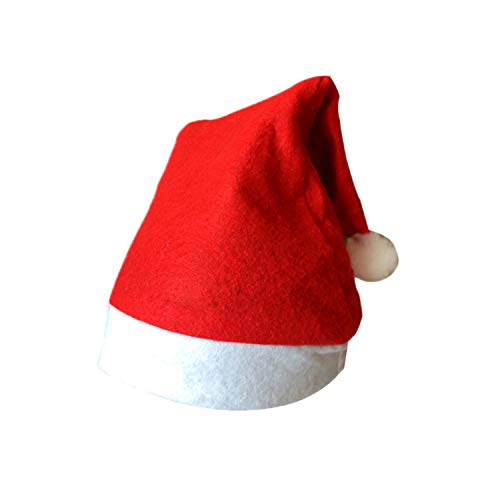 HiiWorld Christmas Ornaments Decoration Christmas Hats Santa Hats Children Women Men Cap for Christmas Party Props