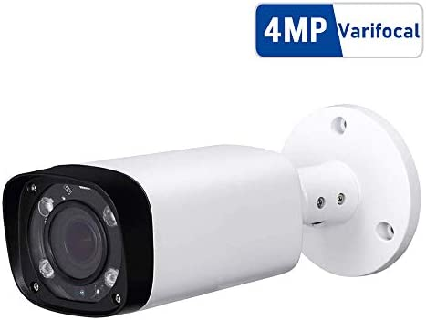 4MP Outdoor Bullet PoE IP Camera, IPC-HFW4431R-Z 2.7-12mm Motorized Varifocal Lens 4X Optical Zoom, IR Night Vision 60m, H.265, Waterproof Surveillance Camera