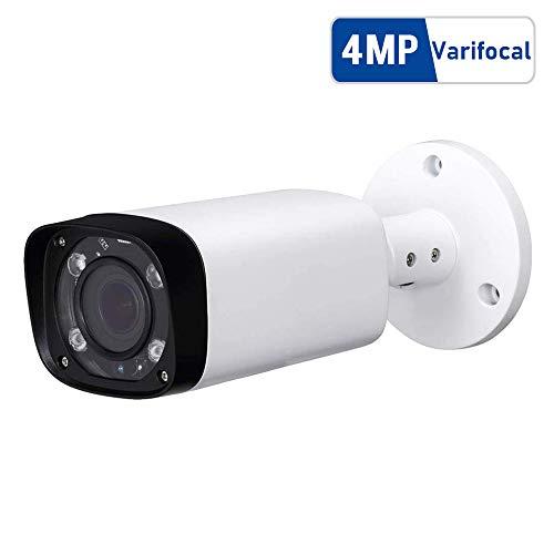 4MP Outdoor Bullet PoE IP Camera, IPC-HFW4431R-Z 2.7-12mm Motorized Varifocal Lens 4X Optical Zoom, IR Night Vision 60m, H.265, Waterproof Surveillance Camera