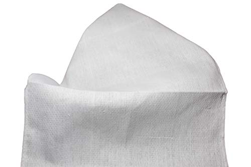 Atlas White Huck Towels 16x26' New (24 Pack)
