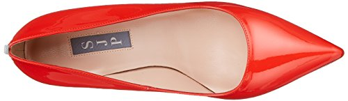SJP Tacco Cot con Fawn Donna Sarah Rosso by Parker Patent Scarpe Jessica rxwRrB0H