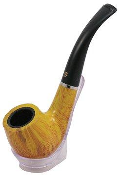 Amazon com: Yellow Tobacco Smoking Pipe with Box & Metal