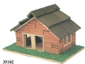 Kit maqueta casa ladrillos Keranova 35102: Amazon.es ...