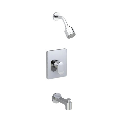 American Standard T506502.002 Moments Bath and Shower Trim Kit with 3 Function Adjustable Showerhead, Polished Chrome (Moments Diverter)