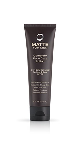 Matte For Men Complete Face Care Lotion with SPF 30, 4.0 - Complete Care Head Lotion