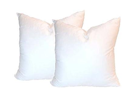 Amazon Pillowflex Set Of 40 Synthetic Down Alternative Pillow Beauteous Synthetic Vs Feather Pillow Inserts