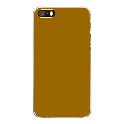 "Disagu Design Case Coque pour Apple iPhone 5 Housse etui coque pochette ""Braun"""
