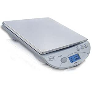American Weigh Scales AMW13-SL Dig Postal Kitchen ScaleSilvr