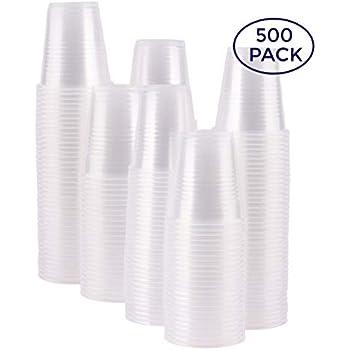 Amazon.com: Caso de 2.500 – 3 oz Clear Vasos de plástico ...