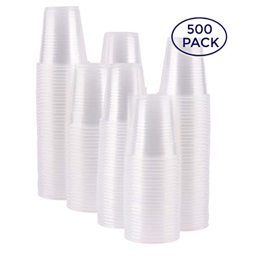 Stack Man 3 oz. Plastic Cups, Bulk - (500/Case) (Plastic Cups With Shot Glass Built In)