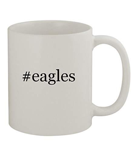 #eagles - 11oz Sturdy Hashtag Ceramic Coffee Cup Mug, White