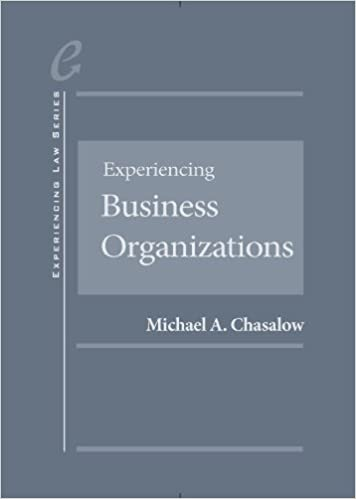 Experiencing business organizations experiencing series michael experiencing business organizations experiencing series 1st edition fandeluxe