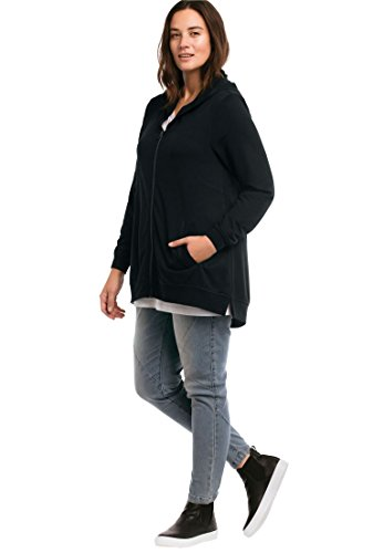 Zip Front French Terry Jacket - 9