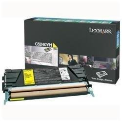 "Lexmark High Yield Toner Cartridge - Yellow - 5000 Pages Based On Approximately 5% Cove - By ""Lexmark"" - Prod. Class: Printers/Printer Cartridge - Laser Color"