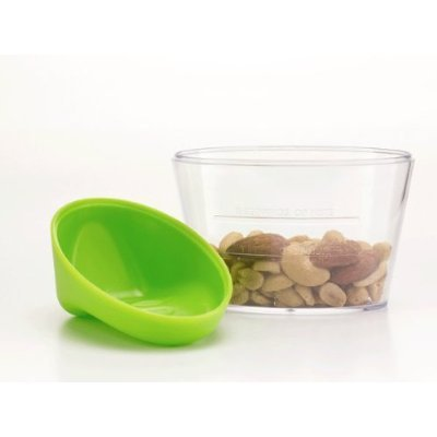 Jokari Healthy Steps Portion Control Nut Bowl and Scoop