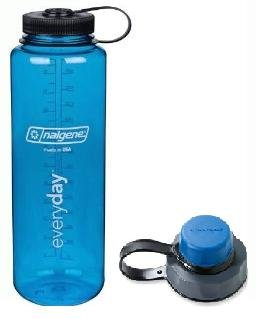 Amazon.com   Nalgene Combo Pack Blue 48 oz Silo Hydration Bottle and ... 554bc2e30ae7