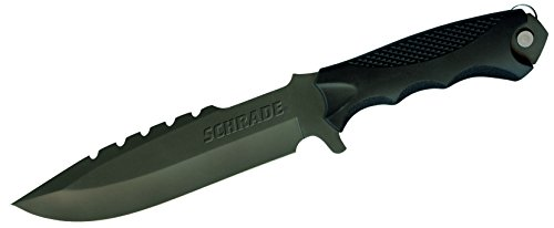 Schrade-SCHF27-Extreme-Survival-Full-Tang-Drop-Point-Fixed-Blade-Knife-Tool-TPE-Handle