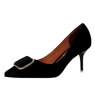 Le donne sexy elegante sandali donna tacchi a spillo/abito popolare/pelle/Comfort/Office/stile eleganza/nuovo arrivo/Hot sales , verde , noi6.5-7 / EU37 / uk4,5-5 / CN37