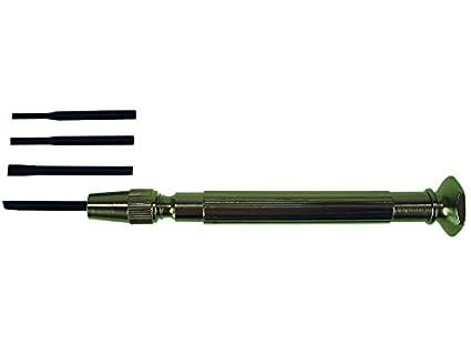 Hawe - 55.101 - Destornillador de relojero tamaño 0 Cruz Ranura ...