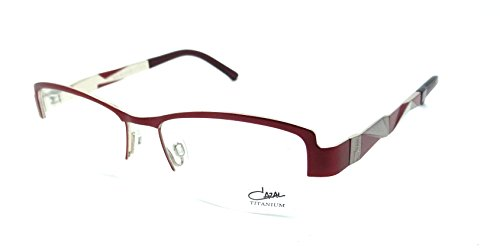 Cazal Rx Eyeglasses Frames 4207 004 52x16 Ruby Titanium Made in (Cazal Eyewear Mens Eyeglasses)