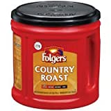 Folgers Country Roast Mild Ground Coffee, 34.5 oz