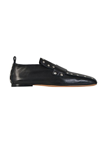 celine-womens-320643nsm38no-black-leather-loafers