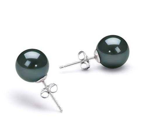 6-7mm AA Quality Japanese Akoya 925 Sterling Silver Cultured Pearl Earring Pair For Women