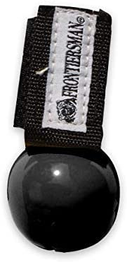 SABRE Frontiersman Bear Bell, Magnetic Silencer, Durable Velcro Attachment, Helps to Prevent Startling Bears W