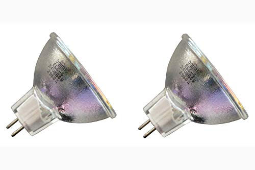 (2pcs ELC-5 24V 250W Long Life Donar Bulb for Martin Magic Moon Rainbow Ministar SuperMoon Destroyer Punisher Acrobat CX2 Ego 1 2 3, Juggler Raptor T-Rex MX1 Scanner - Startec 250 Halogen Lamp)