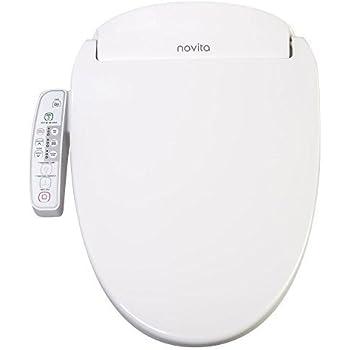 Novita Slimline Bidet Toilet Seat Model Bn 330 White