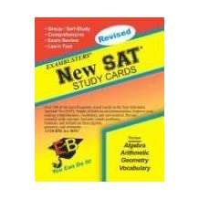 Exambusters New SAT Study Cards: A Whole Course in a Box