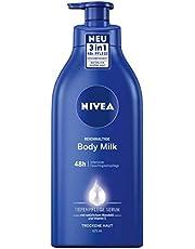 NIVEA Rich Body Milk Kräm, 625 ml