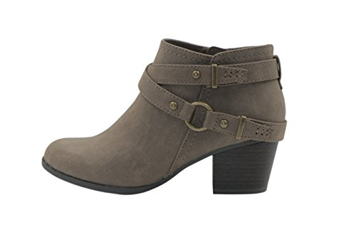 Dunes Womens Patty Boots Taupe
