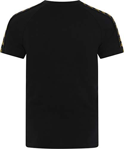 Coen shirt Noir Kappa T gold Doré black qHCFFw