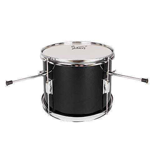 Lovinland 13''x8'' 3-Pieces Junior Kids Child Drum Set Kit Pedal Drum Stick Wrench Drum Stool Black by Lovinland (Image #4)