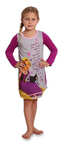 Disney Girls Little Rapunzel Nightgown, Purple, 6