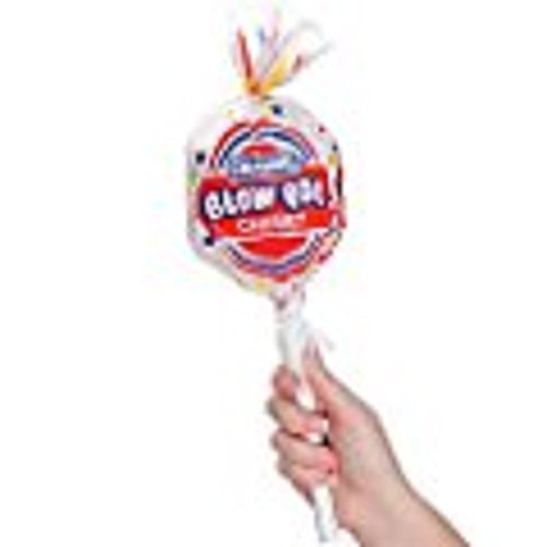 CHARMS GIANT BLOW POP OVERSIZED CANDY Candy container holds 8 Hard Candy Lollipops (3 Pack) - Holds 3 Charms