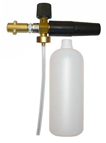 MTM Hydro Professional Adjustable Foam Cannon with Bayonet, 2600 PSI