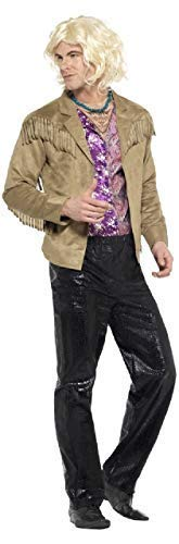 Mens Hansel Zoolander Stag Do Night Comedy Funny TV Book Film Fancy Dress Costume Outfit M&L (Medium)