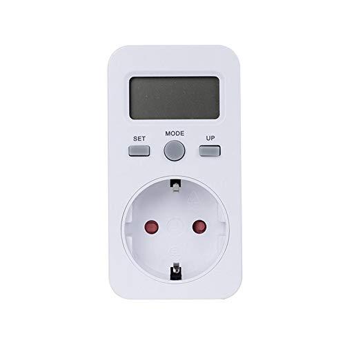KWE-PMB03 Steckdose Digitale Spannung Wattmeter Leistungsaufnahme Watt Energiemessger/ät AC Electricity Analyzer Monitor