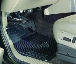 Husky Liner 51032 Rubber Front Floor Mats GRAY Chevy - 1999 Gmc Suburban Carpet