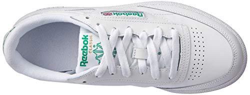 Reebok Herren Club C 85 Sneakers, Elfenbein (Int-white/green), 42 EU 5