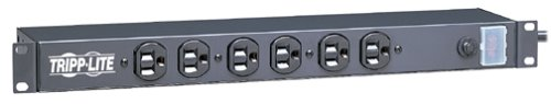 Tripp Lite 14 Outlet Network-Grade Rackmount PDU, 15A Surge Protected Power Strip, 15ft Cord with 5-15P (DRS-1215)