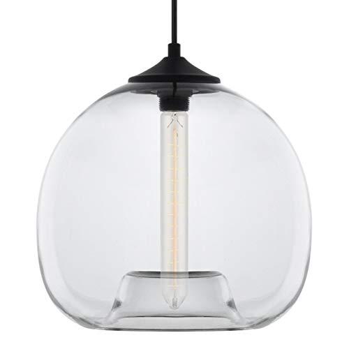 Ori Clear Glass One Light Pendant Lamp - Linea di Liara LL-P515-CRI ()