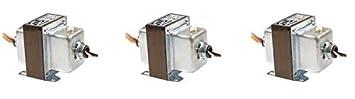 Foot and Dual Threaded Hub Mount 50Va Functional Devices TR50VA008 Transformer 480//277//240//208 to 120 Vac Circuit Breaker